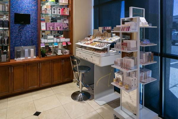 deja-vu-med-spa-lobby-products1
