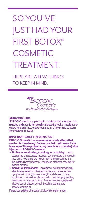 Post-Treatment-Card