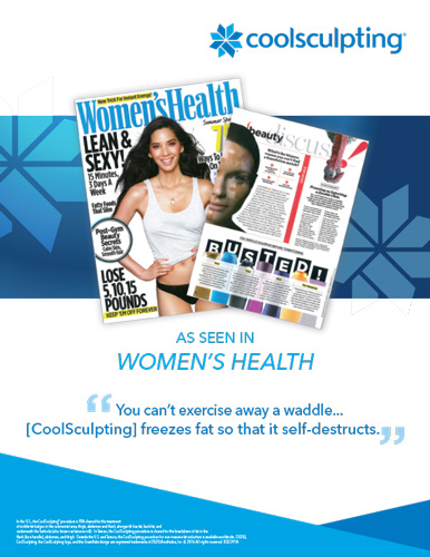 coolsculpting-women's-health-flyer