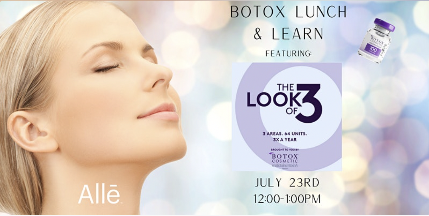 """Botox """"The Look of Three"""" Event"""
